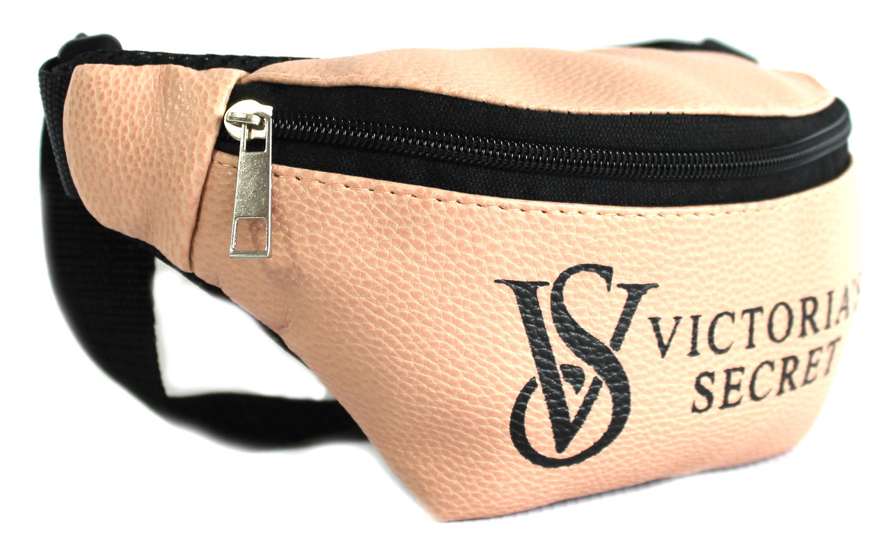 """Стильна жіноча сумка на пояс (бананка) кожзам """"VS B240"""""""