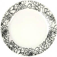 "Подставная тарелка ""Давинчи"" Ø26см, фарфор"