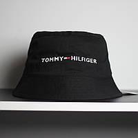 Черная мужская панама Tommy Hilfiger томми хилфигер