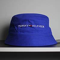 Синяя мужская панама Tommy Hilfiger Томми Хилфигер