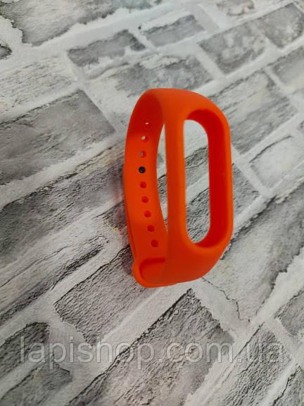 Ремешок для Mi Band 2 оранжевый