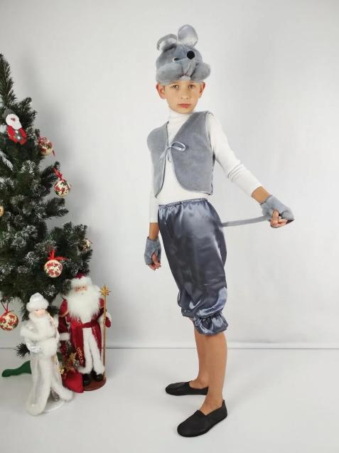 Маскарадный костюм Мышка для мальчика