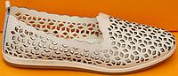 Балетки летние кожаные от производителя модель ДС84
