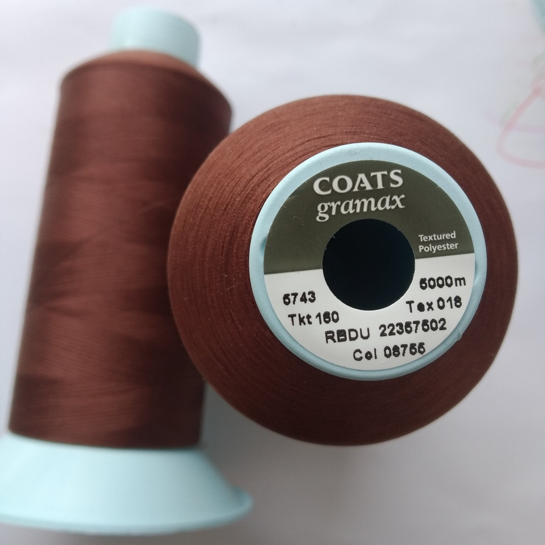 Текстурована нитка Coats gramax 160/ 5000v / 08755