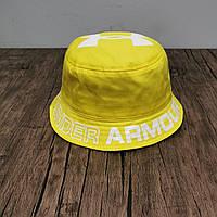 Панама мужская Under Armour. Панамка мужская желтого цвета