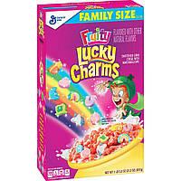 Lucky Charms Fruity 601g (Поврежденная упаковка)