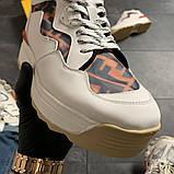 Женские кроссовки Fendi, женские кроссовки фенди, фото 4