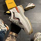 Женские кроссовки Fendi, женские кроссовки фенди, фото 3