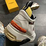 Женские кроссовки Fendi, женские кроссовки фенди, фото 7