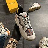 Женские кроссовки Fendi, женские кроссовки фенди, фото 2