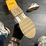 Женские кроссовки Fendi, женские кроссовки фенди, фото 8