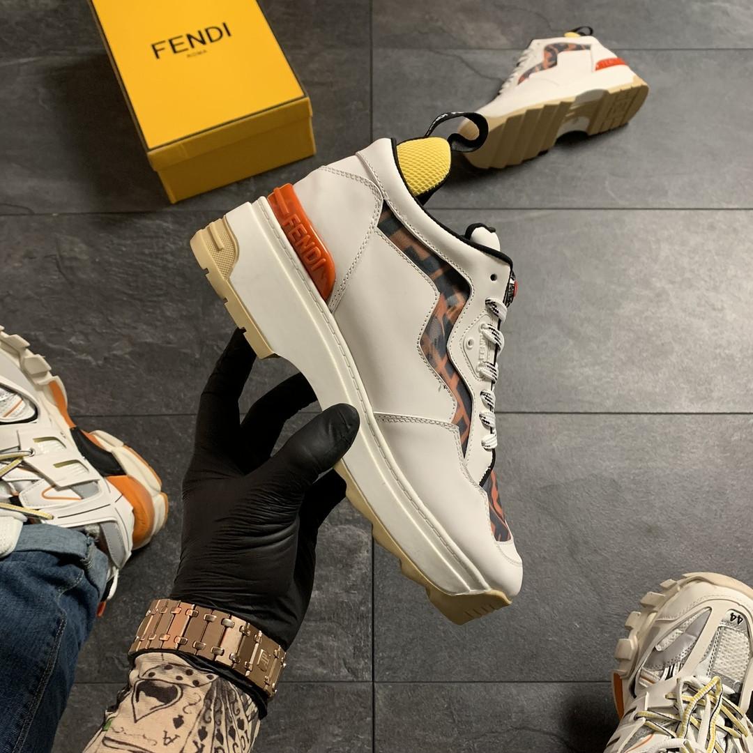 Женские кроссовки Fendi, женские кроссовки фенди