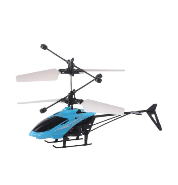 Міні летить вертоліт