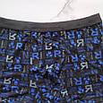 Трусы мужские размер 52 Veenice черно-синие, фото 2
