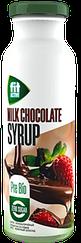 "Низкокалорийный сироп ФитПарад Fit Active пребиотик со стевией вкус ""Молочный Шоколад"" (300 грамм)"