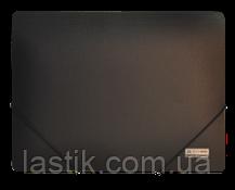 Папка на резинках, JOBMAX, А4, непрозр.пластик, фото 2
