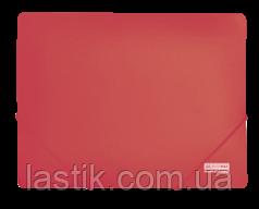 Папка на резинках, JOBMAX, А4, непрозр.пластик
