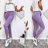 Летние женские спортивные штаны, разные цвета р.42-44;44-46 код 186Р, фото 2