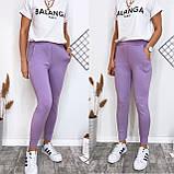 Летние женские спортивные штаны, разные цвета р.42-44;44-46 код 186Р, фото 3