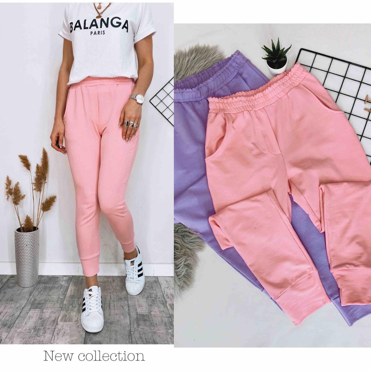 Летние женские спортивные штаны, разные цвета р.42-44;44-46 код 186Р