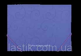 Папка на резинках, BAROCCO, А4, матовый непрозр.пластик, фото 3