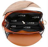 Рюкзак-сумка жіночий на застібках, фото 2