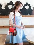 Рюкзак-сумка жіночий на застібках, фото 5