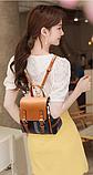 Рюкзак-сумка жіночий на застібках, фото 6