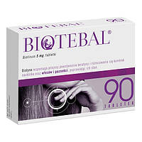Biotebal 5mg - для укрепления волос и ногтей, 90 таблеток