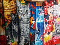 Банное детское полотенечко разные окрасы
