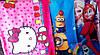 Полотенце банное детское Холодное Сердце, Миньены, Китти