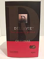 Кофе молотый Dellavie Original 250г в вакуумной упаковке