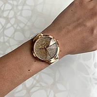 Женские наручные часы искусственная кожа блестящие белые