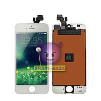 Дисплей iPhone 5 белый | LCD экран, тачскрин, стекло | Модуль в сборе