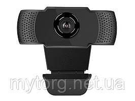 Веб камера прищепка 1080P HD 5MP USB 1080P Черный