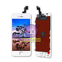 Дисплей iPhone 5S белый | LCD экран, тачскрин, стекло | Модуль в сборе