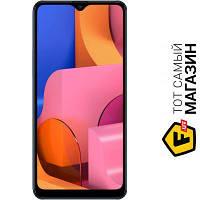 Samsung Galaxy A20s 2019 SM-A207F/DS 3/32 Blue мобильный телефон с большим экраном, фаблет сенсорный моноблок 3G, 4G, EDGE, GPRS синий