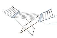Электросушилка для белья напольная раскладная Besser 10292 48 x 52 x 73 см Серебристый (008363)