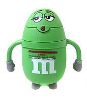 Бутылка для воды детская Stenson R84902 небьющаяся 180 мл Зеленый (007701)