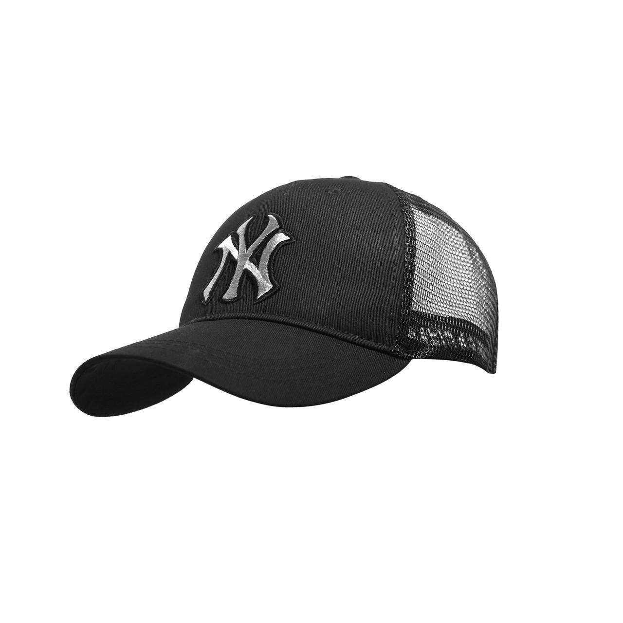 Бейсболка Трекерка  Мужская white белая с логотипом надпись Бейсболки New York Yankees