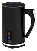 Вспениватель молока - с подогревом Adler AD 4478 500 Вт Черный