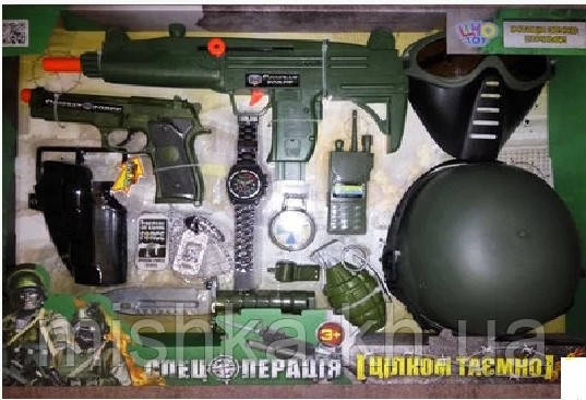 Військовий набір для хлопчиків