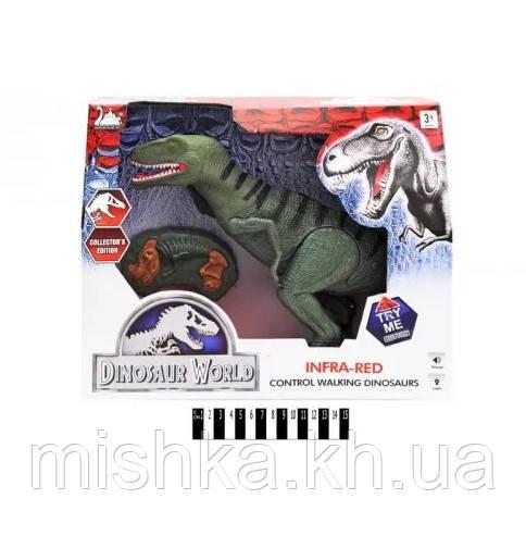 Динозавр (радіокерування, муз зі світлом, коробка) р.36,6*30,9*8,1см.
