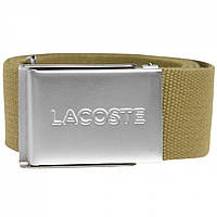 Ремень Lacoste Lacoste Lacoste Woven Brown UXF - Оригинал, фото 1