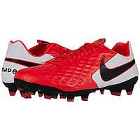 Бутси Nike Tiempo Legend 8 Pro FG Laser Crimson/Black/White Оригінал, фото 1