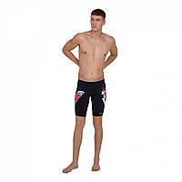 Шорти для плавання Speedo V cut Jammer Sn02 Black/Multi - Оригінал, фото 1