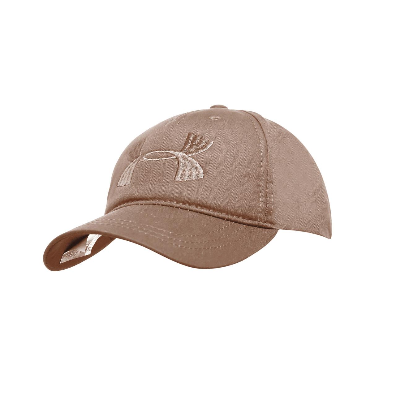 Бейсболка Cotton Мужская с логотипом песочная