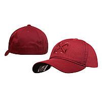 Бейсболка Cotton Мужская с логотипом бордовый, фото 3