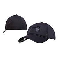 Бейсболка Cotton Мужская с логотипом Черная, фото 3