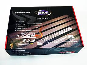 Boschman BM Audio XW-F4399 1700W 4-х канальний Автомобільний підсилювач звуку